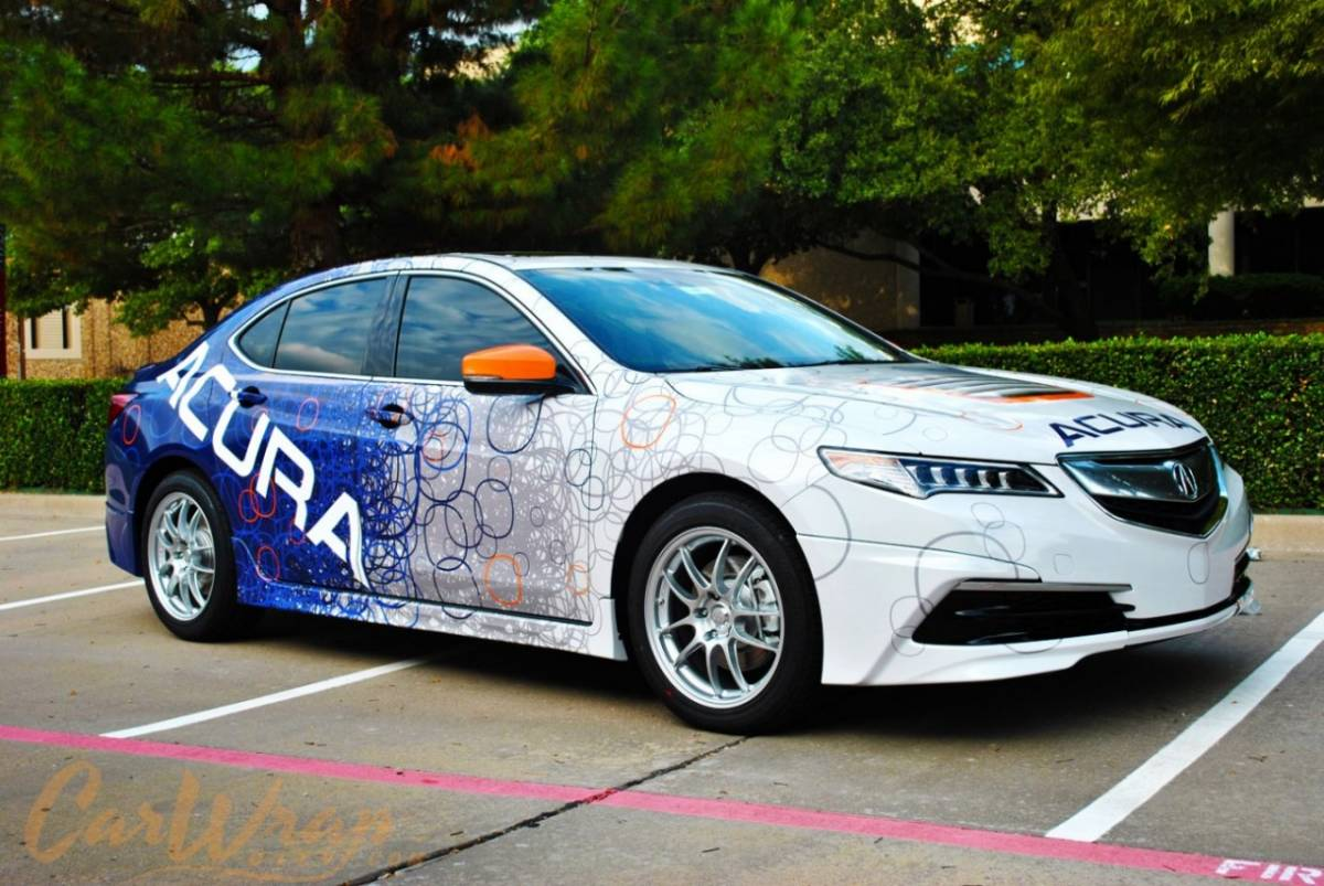 Recreating The 2015 Acura Tlx Gt Wrap Car Wrap City