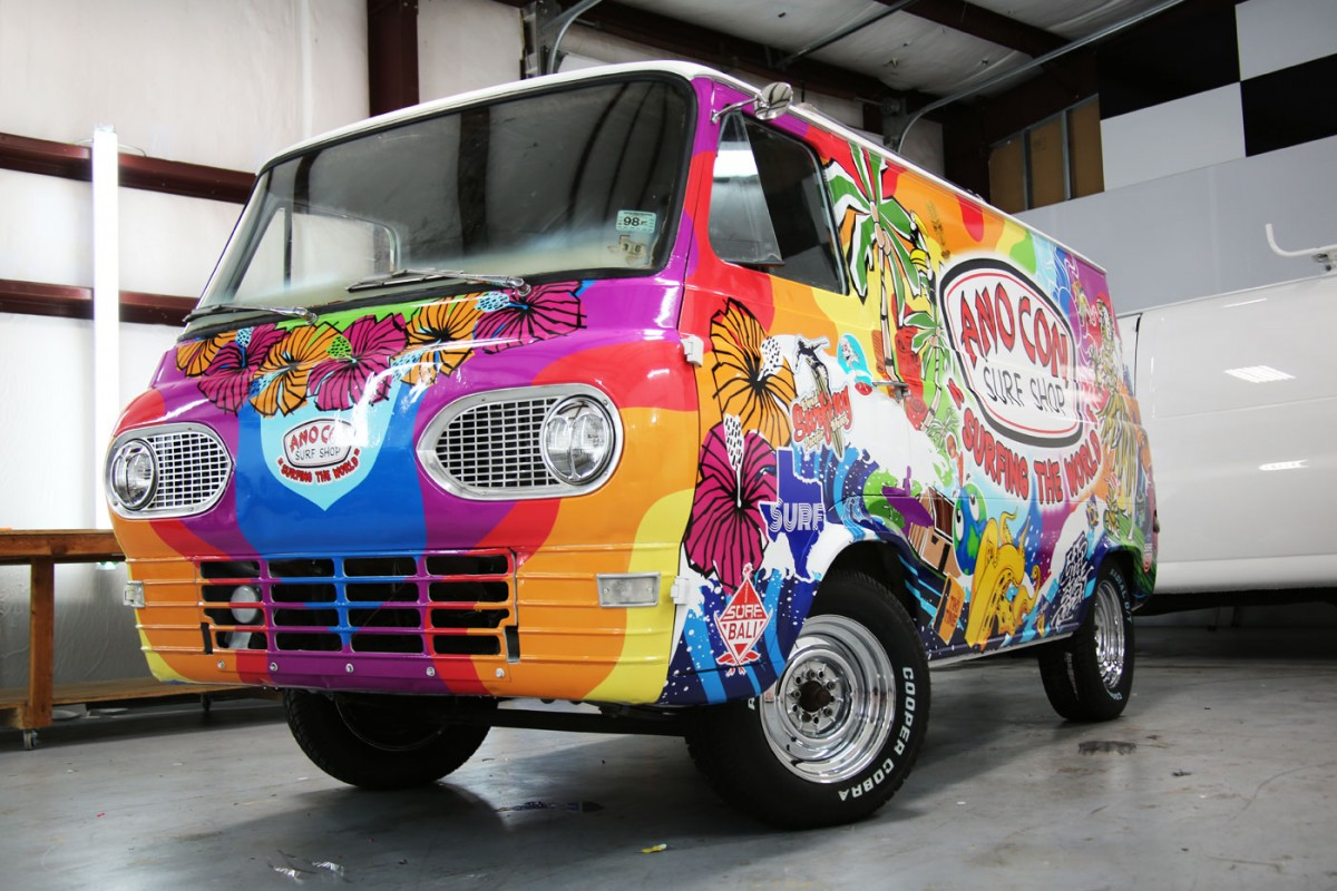 Wild Wraps For A 60 S Surf Shop Van And An Airboat Car Wrap City