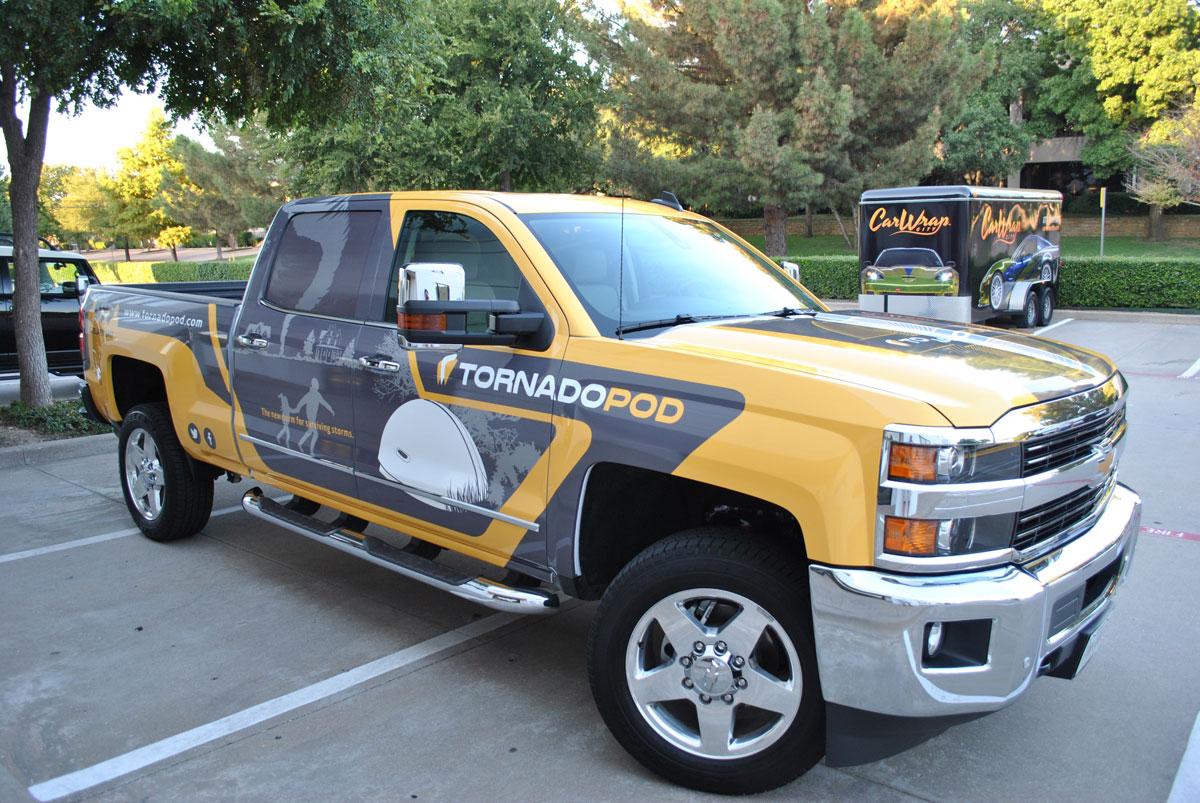 Gmc Sierra 2500 Hd For Tornadopod Car Wrap City