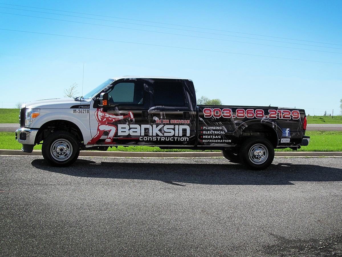 Banksin Construction Multi Brand Vehicles Car Wrap City