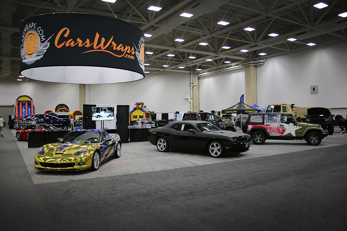 We Are At The DFW Auto Show Car Wrap City - Dallas car show