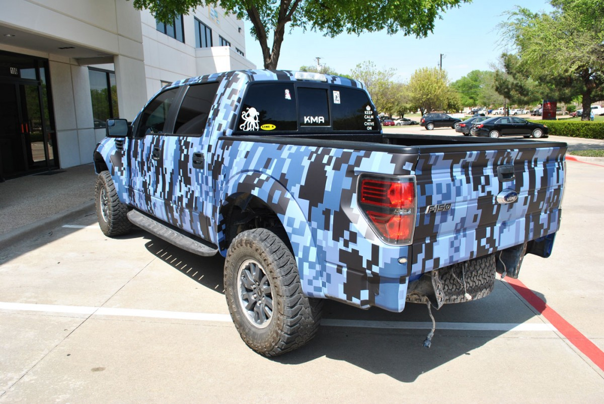 Raptor Ford Custom >> Texas Motorworx Ford Raptor | Car Wrap City