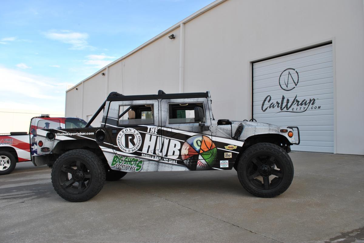 Hummer H1 Full Print Wrap