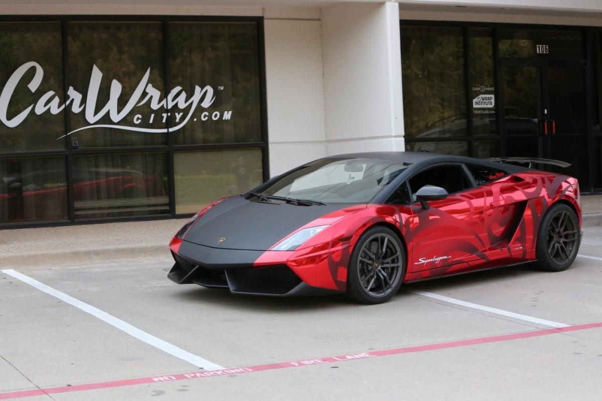 Wrap Like A King Lamborghini Gallardo Superleggera Chrome