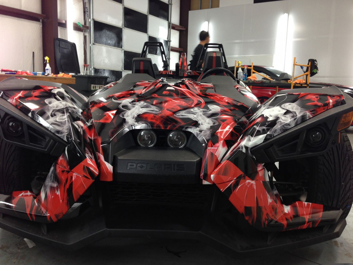 Polaris Slingshot Wraps Car Wrap City