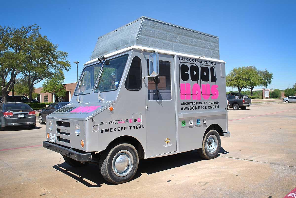 Cool Haus Mini Food Truck Spot Graphics Car Wrap City