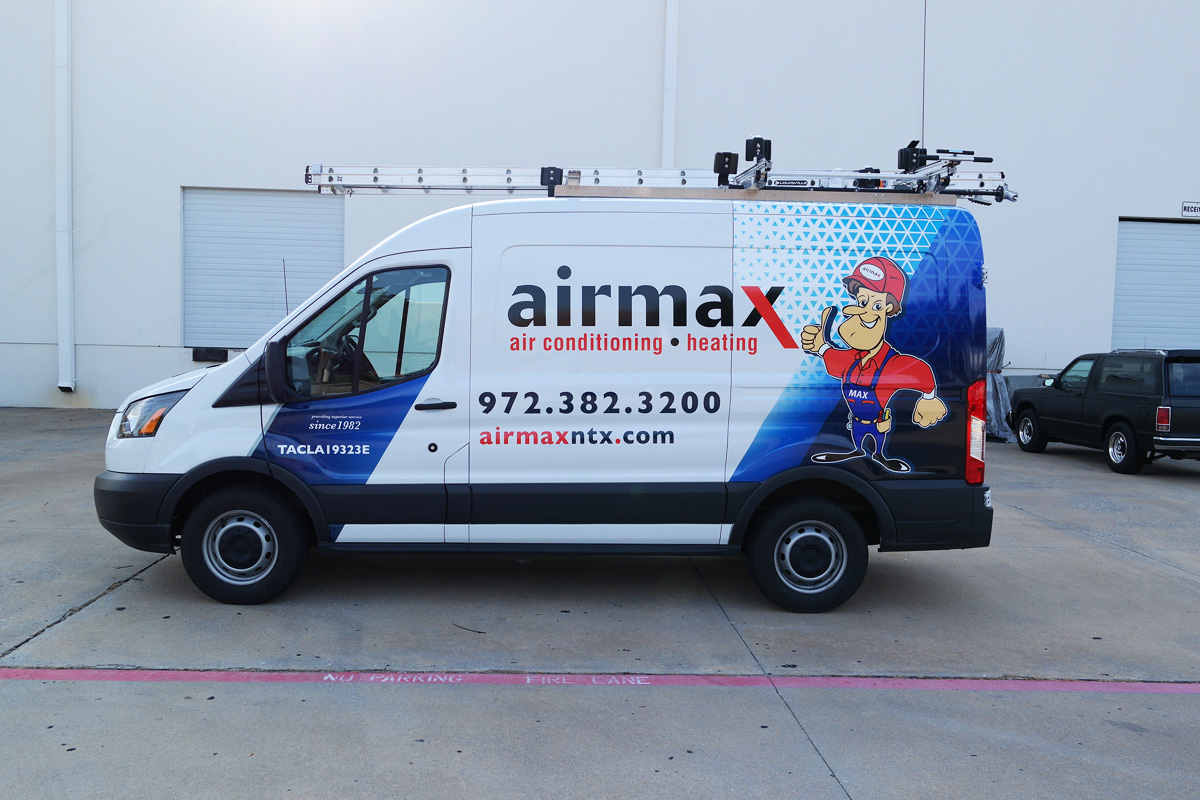 Airmax Transit 250 Cargo Van Wrap Car Wrap City