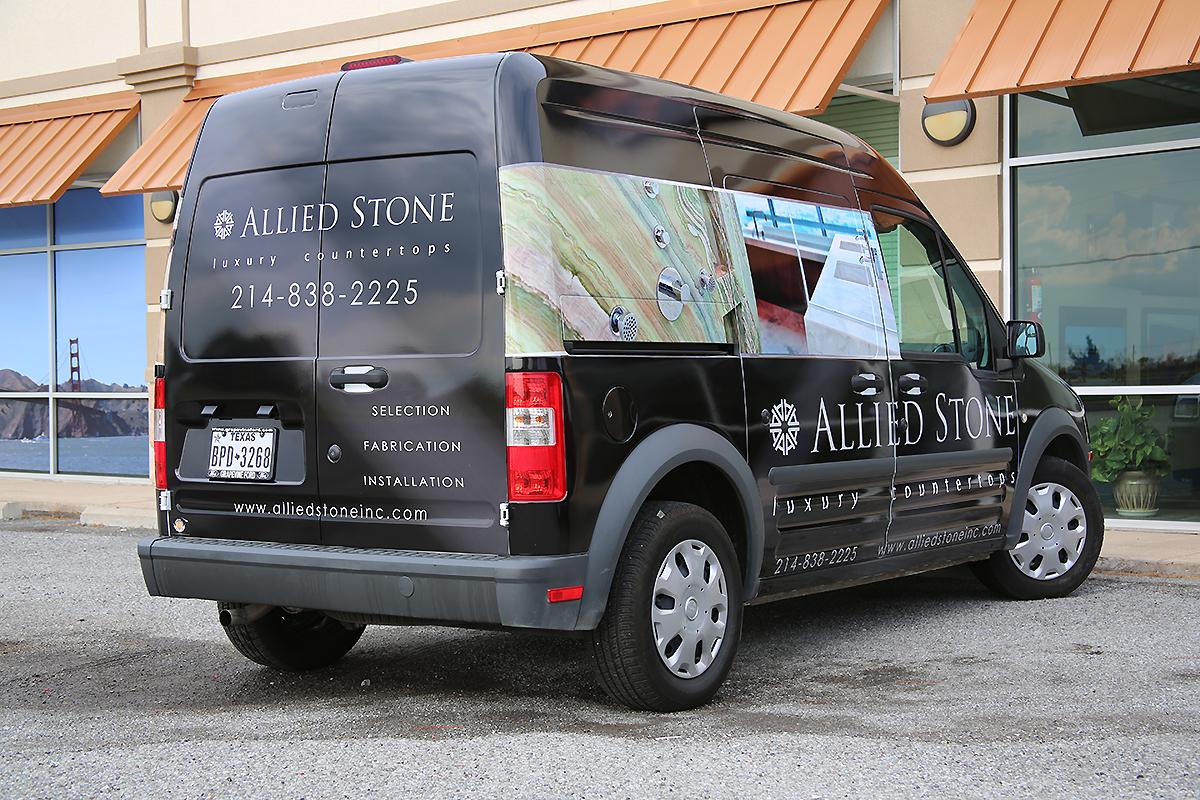 Allied Stone Ford Transit Full Wrap | Car Wrap City