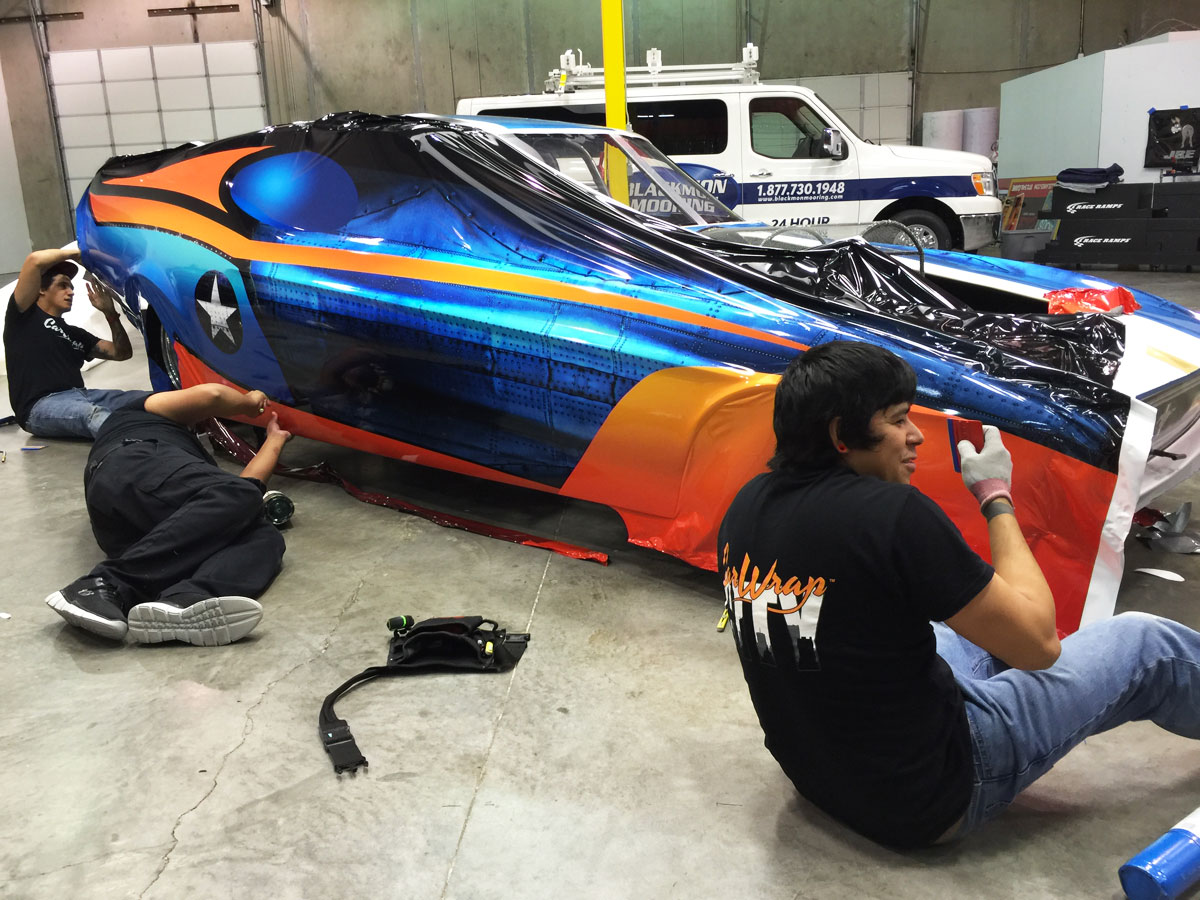 ford mustang jet engine funny car wrap car wrap city