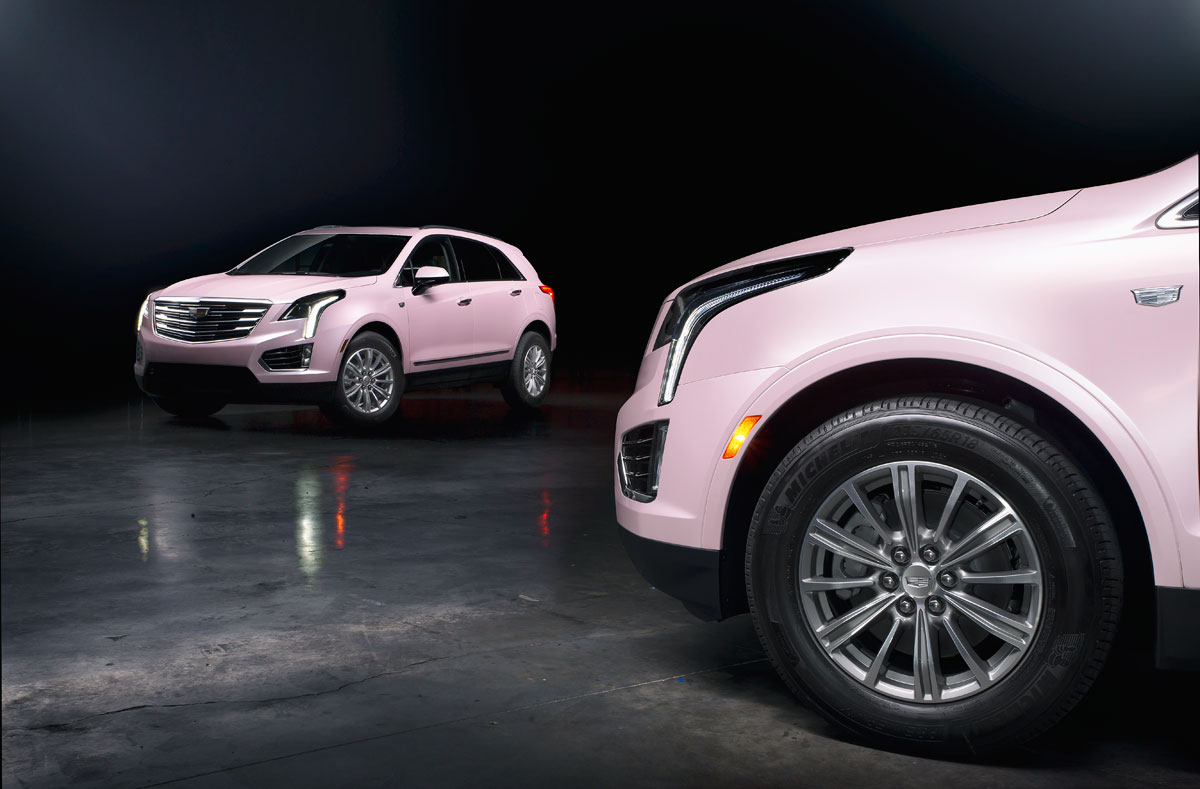 Custom Pink Wraps For Mary Kay Cadillacs Car Wrap City