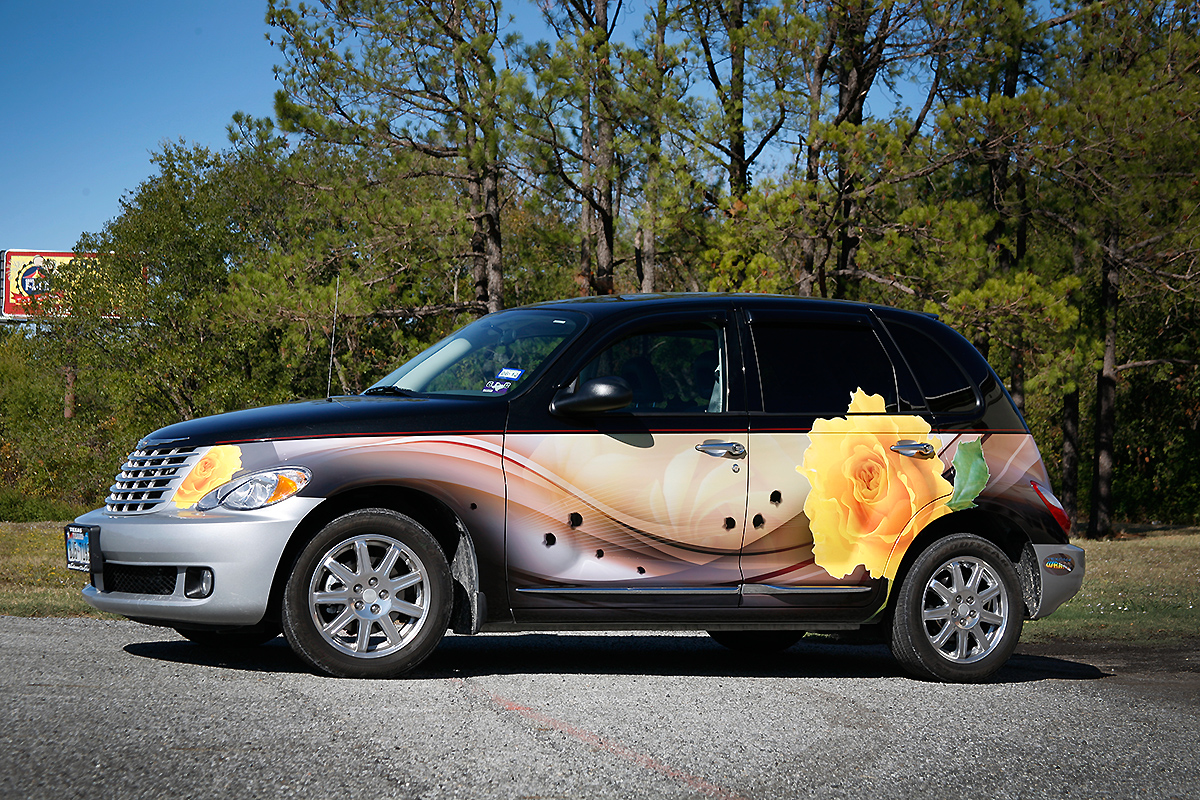 PT Cruiser Partial Wrap | Car Wrap City
