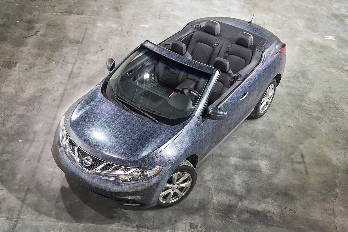 Nissan Murano Convertible Black >> Crocodile Textured Murano Wrap | Car Wrap City