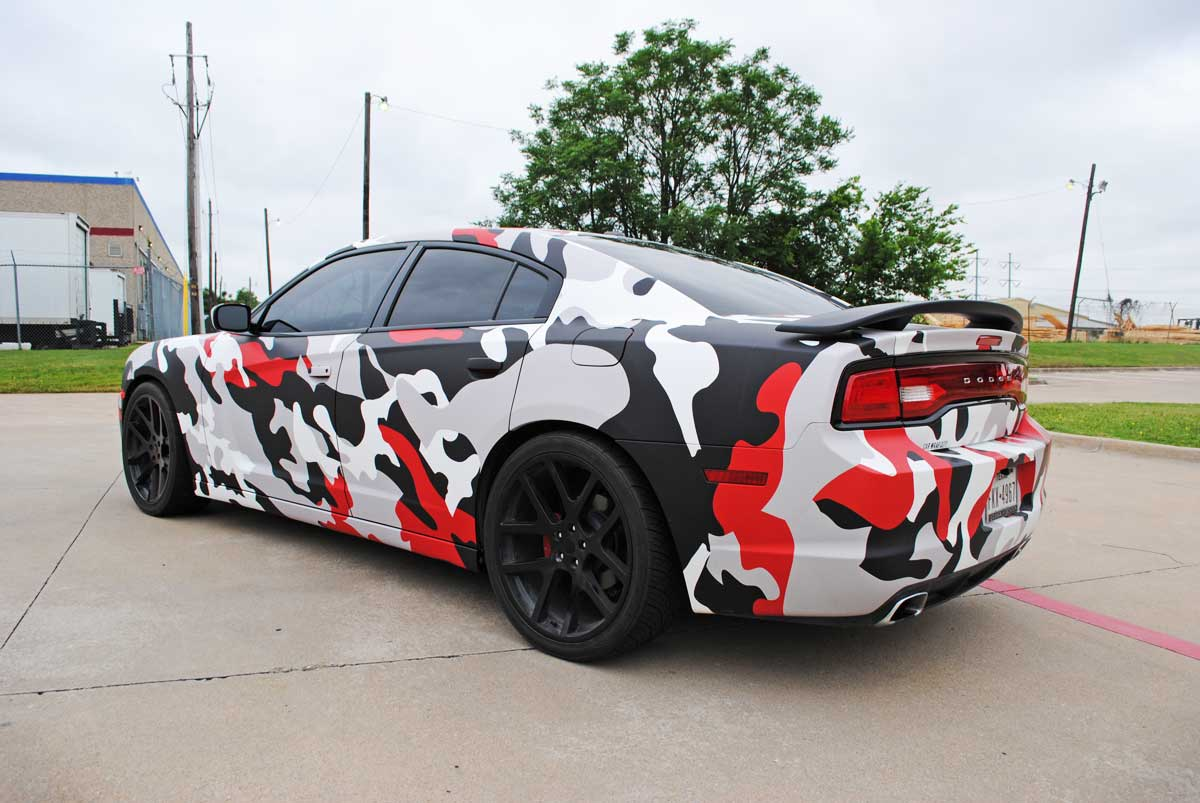 Ultimate Dodge Dodge Charger Wrap