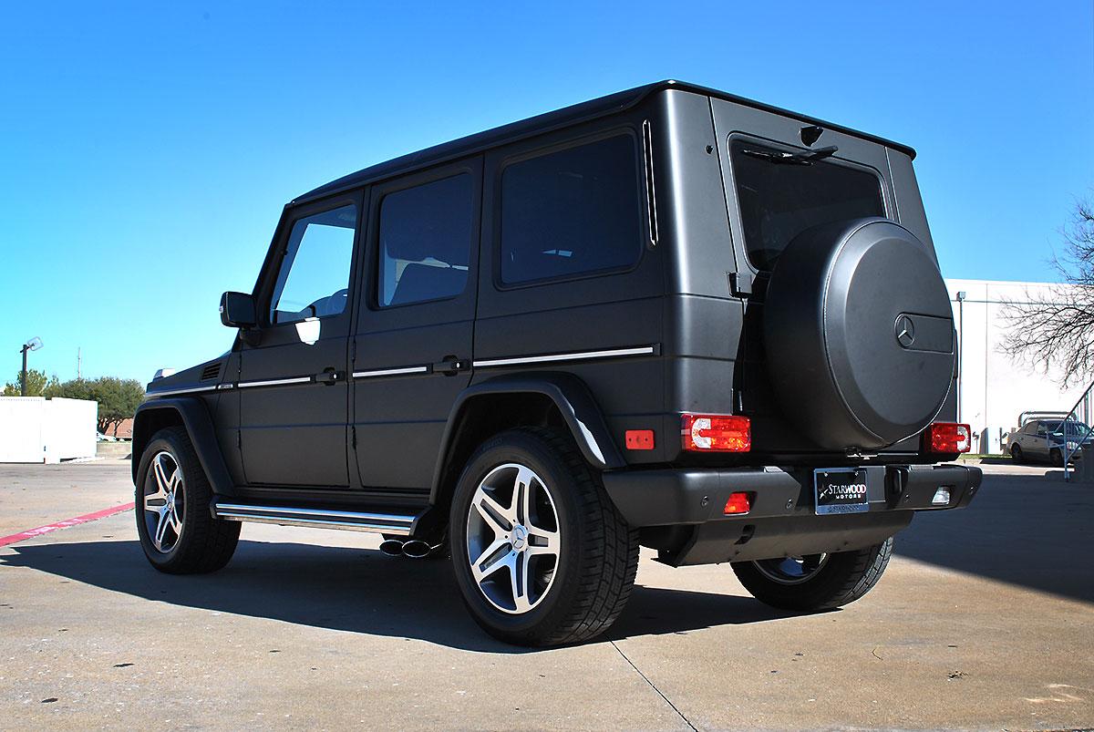 Mercedes G Wagon Color Change Black Matte Wrap Car Wrap City