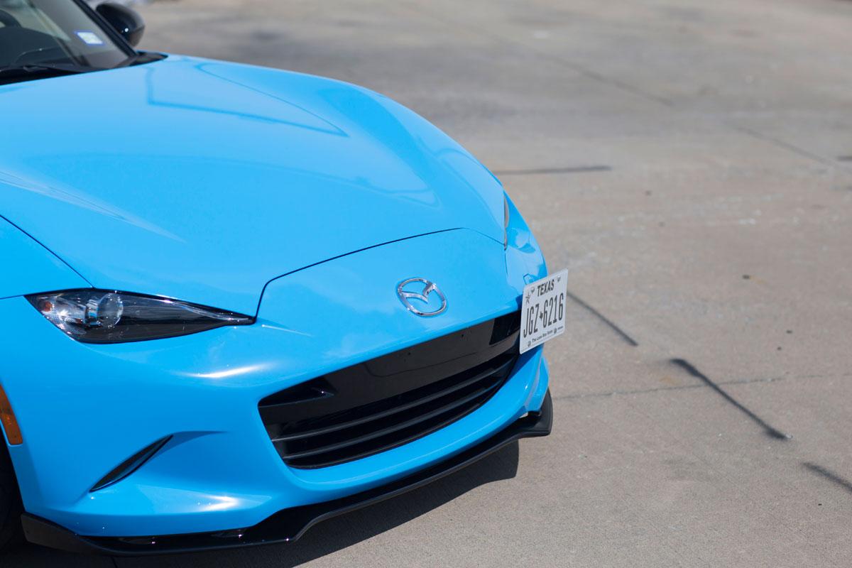 Gloss Light Blue Mx 5 Miata Car Wrap City