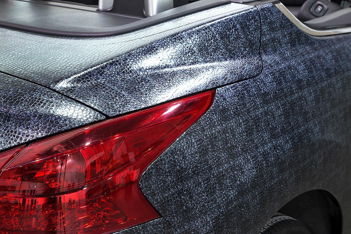Crocodile Textured Murano Wrap   Car Wrap City