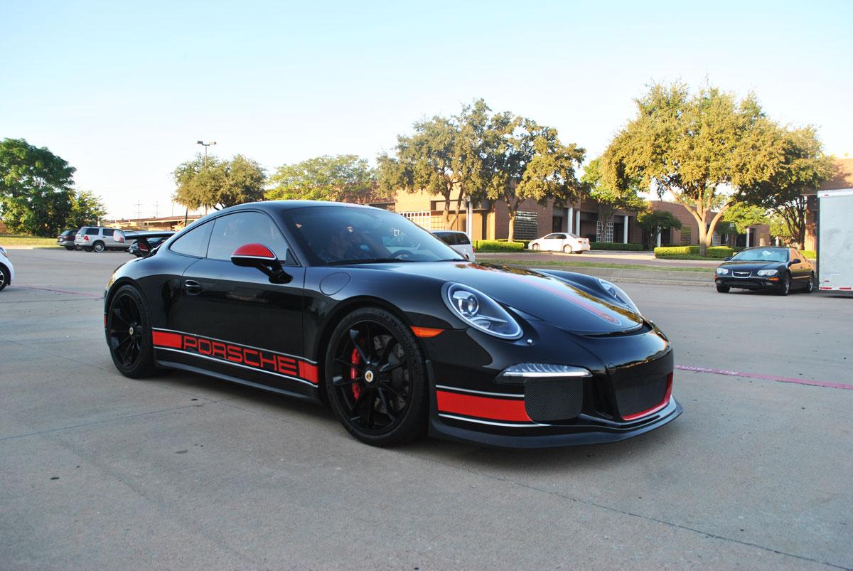 911 Porsche Gt3 Custom Stripes Accents Amp Clear Wrap Car