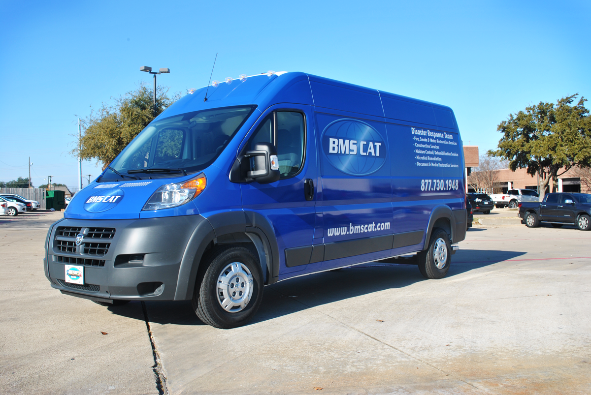 Promaster Fleet Wraps With Reflective Vinyl For Bms Cat