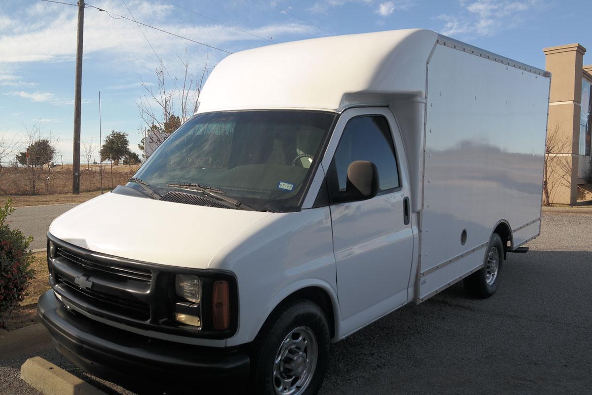 Ford Transit Van >> Full Box Truck Wrap for Reynolds | Car Wrap City