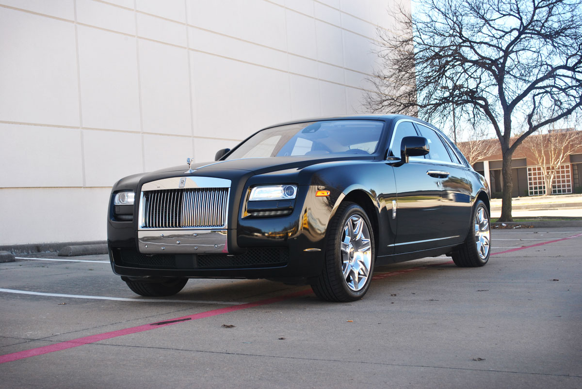 Rolls Royce Ghost Color Change Wrap Car Wrap City