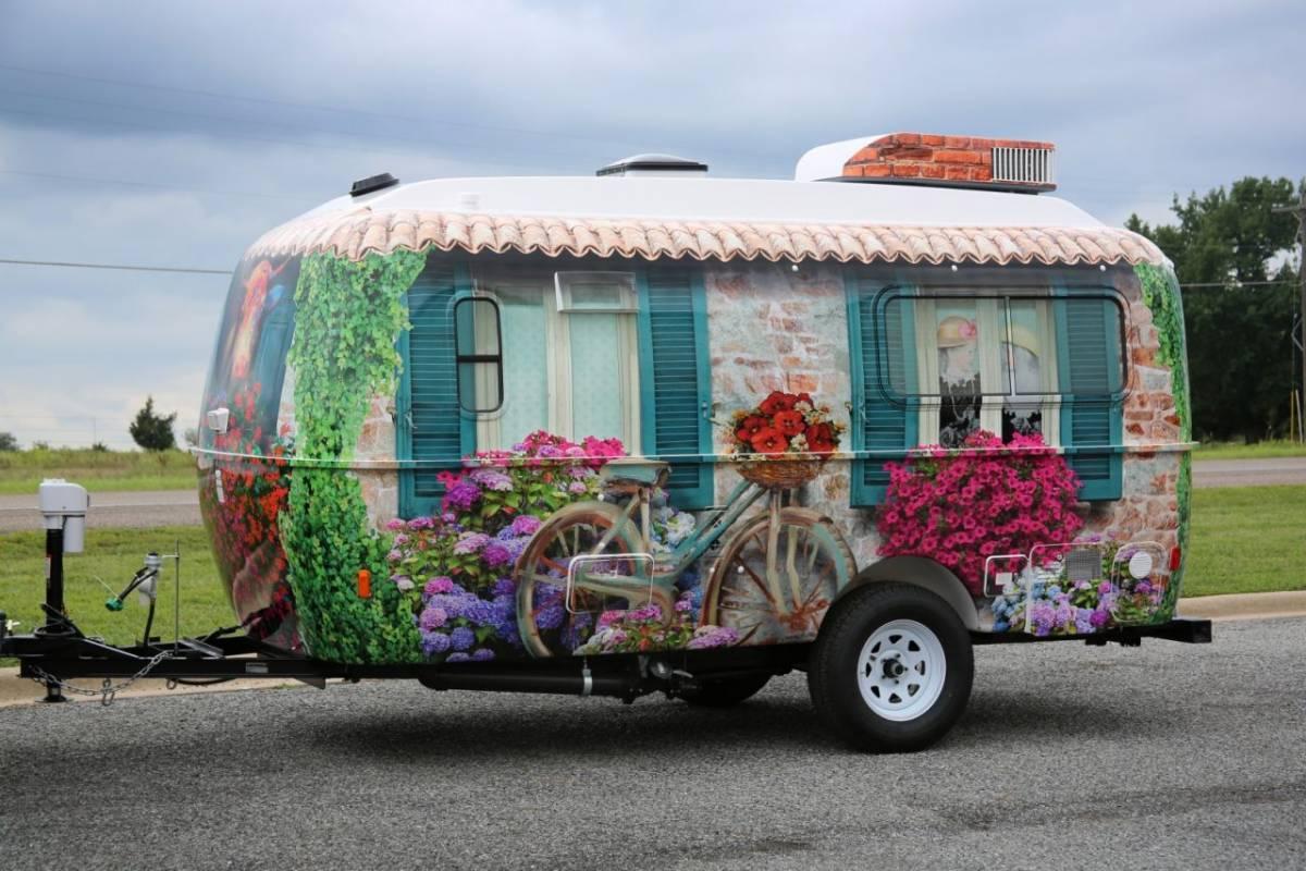 No Limits To Imagination Casita Trailer Full Wrap Car
