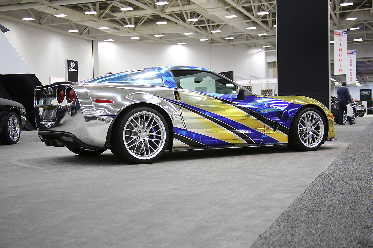 Chrome Car Wrap >> Corvette ZR1 Full Chrome Wrap | Car Wrap City