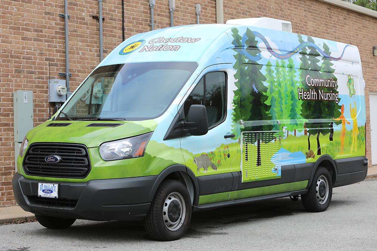 Full Transit Wrap for Community Health Nursing | Car Wrap City
