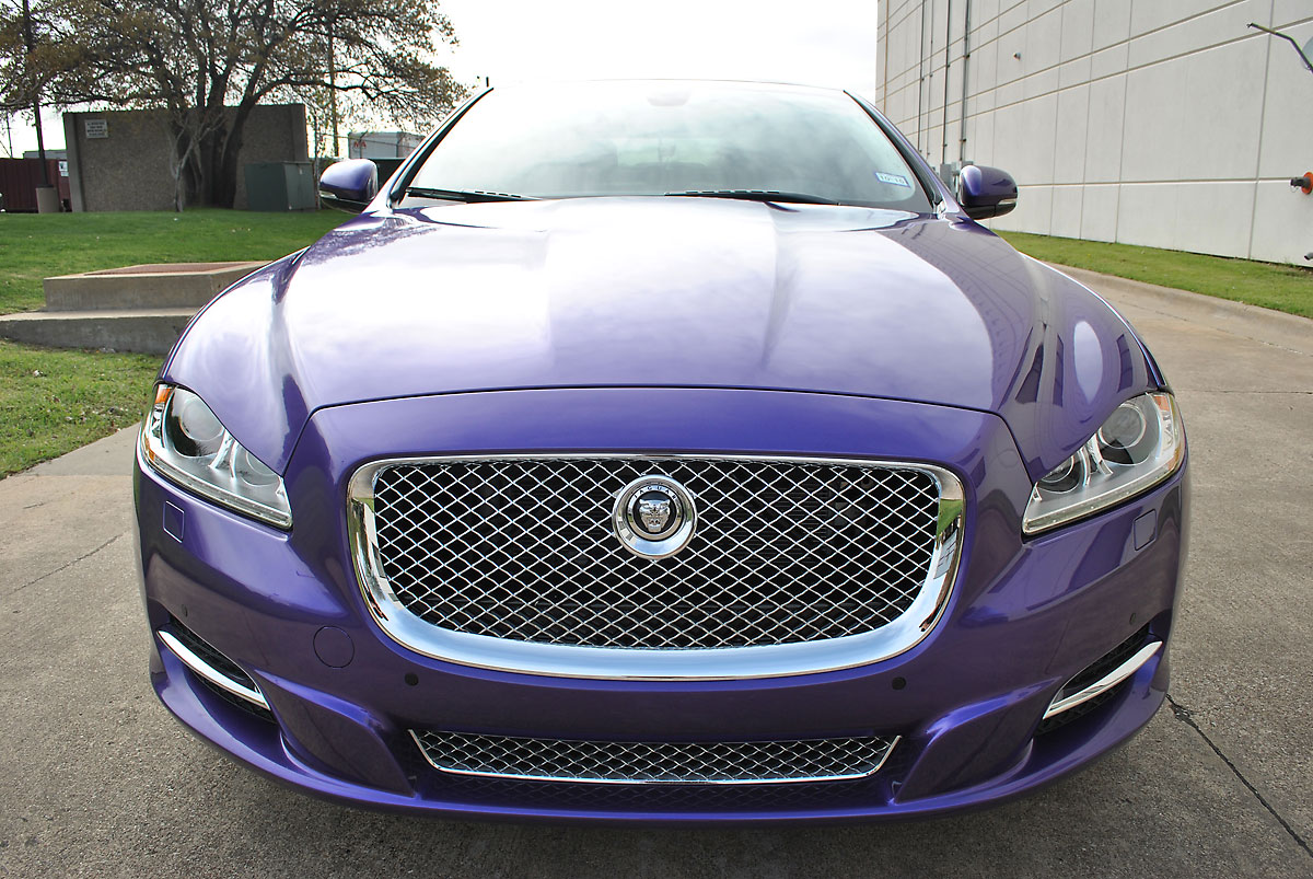 Jaguar Color Change: Black To Purple