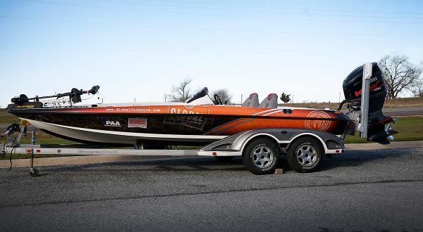 full bass boat wrap