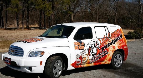 Partial wrap Chevrolet HHR
