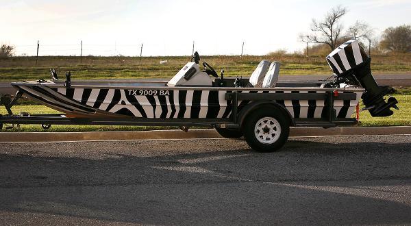 zebra full boat wrap