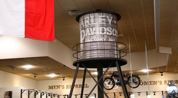Harley Davidson Water Tower
