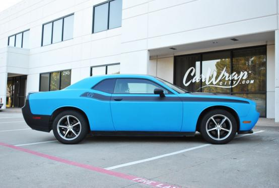 Or go for a full matte color change wrap!