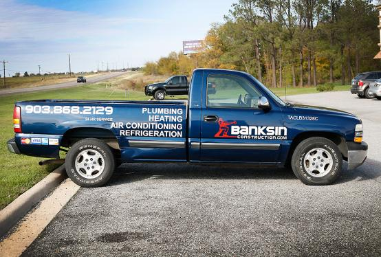 spot graphics pick up truck