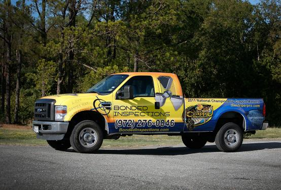 Ford F-350 pick up truck full wrap