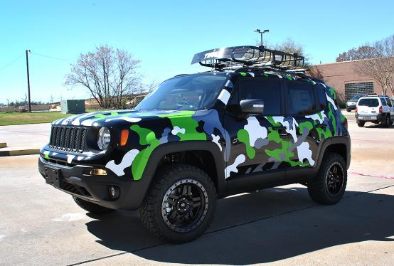 Jeep Renegade Camo on 2016 Trailhawk Jeep Renegade
