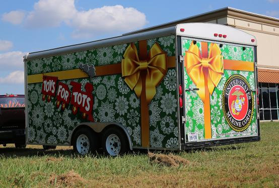 Toys For Tots Request Form : Toys for tots full trailer wrap car city
